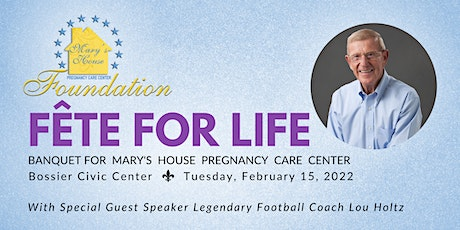 Mary's House Fête For Life Banquet tickets