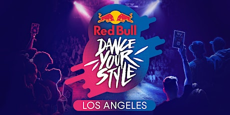 Red Bull Dance Your Style Los Angeles tickets