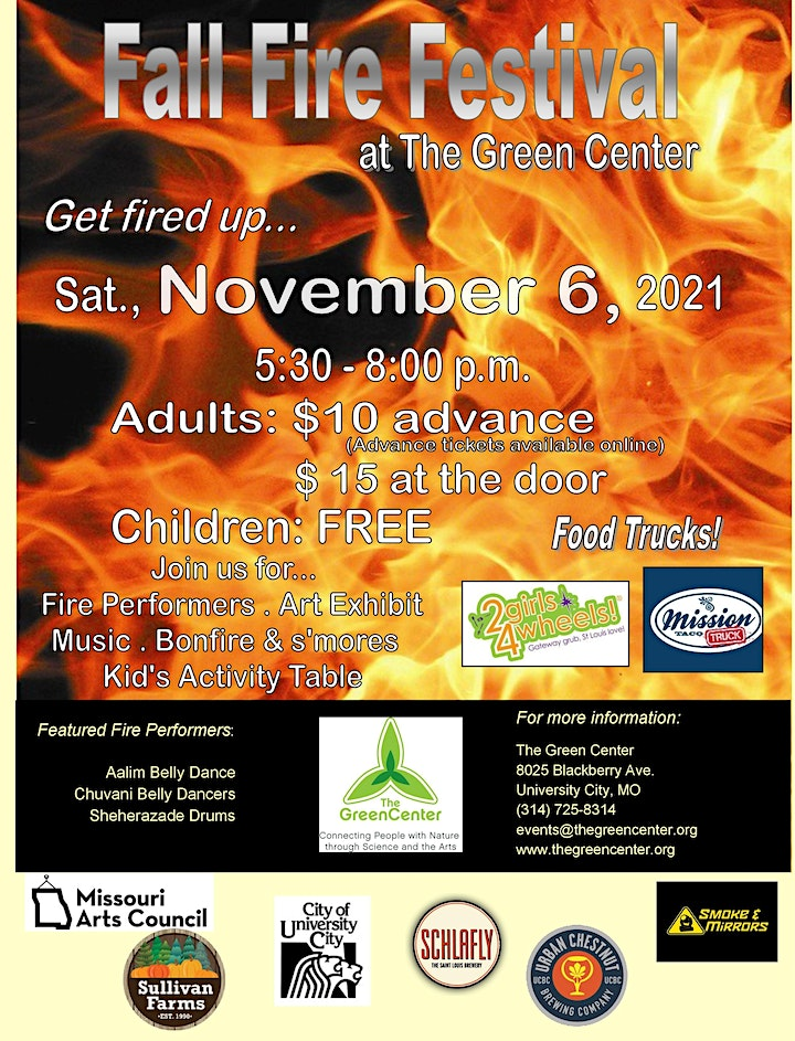 Fall Fire Festival at The Green Center image