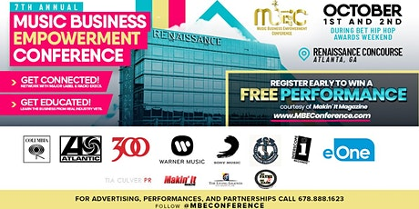 7th Annual Music Business Empowerment Conference tickets