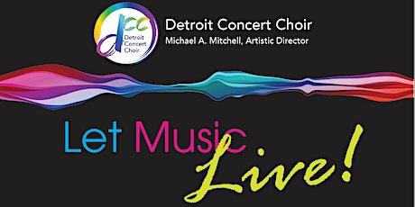 Let Music Live! Oct. 24, 2021 - Detroit tickets
