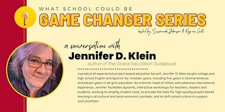 WSCB Game Changer Series: A Conversation with Jennifer D. Klein tickets