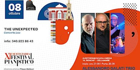 """Alessandro Galati  TRIO al Festival pianistico """"Fausto Zadra"""" -  Cellamare biglietti"""
