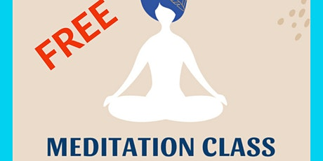 Outreach Meditation Course Teaching Introductory Talk FREE tickets