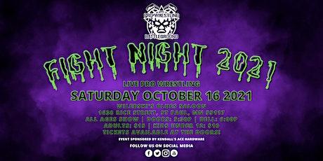 PRO WRESTLING BATTLEGROUND: FIGHT NIGHT 2021 tickets
