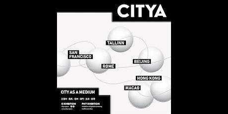 Panel discussion on the international art exchange CITYA - City As Medium tickets