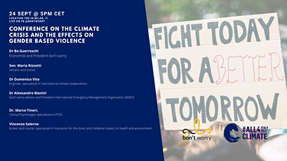 Conference On The Climate Crisis And The Effects On Gender Based Violence tickets