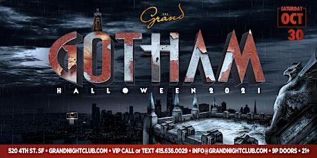 GOTHAM HALLOWEEN 2021 AT THE GRAND NIGHTCLUB tickets