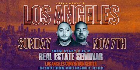 Cesar & DJ Envy's Real Estate Seminar [Los Angeles, CA] tickets