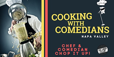 Cooking with Comedians tickets