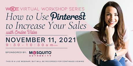 How to use Pinterest to Increase Sales tickets