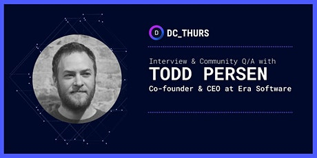 DC_THURS on Time Series Data w/ Todd Persen (Era Software) tickets
