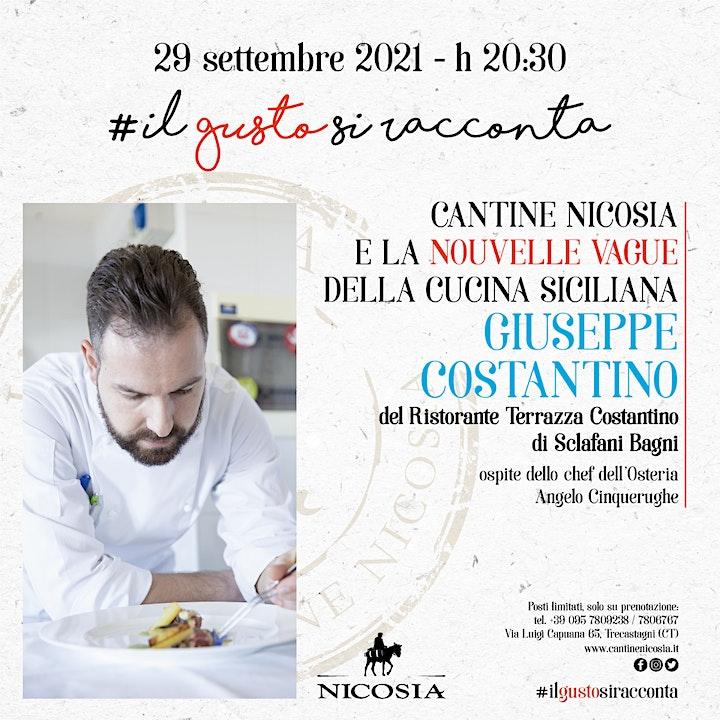 Immagine Il gusto si racconta - La grande cucina di Giuseppe Costantino da Nicosia