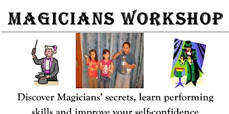 Online Magicians workshop for children (Oct) tickets