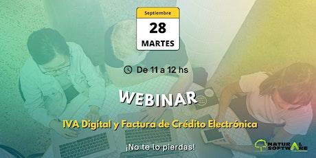 Webinar - Factura de  Crédito Electrónica e IVA Digital tickets