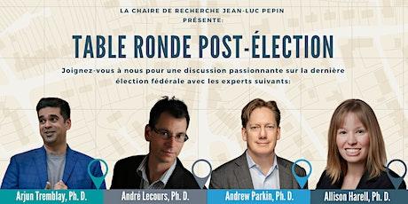 Table Ronde post-élection billets