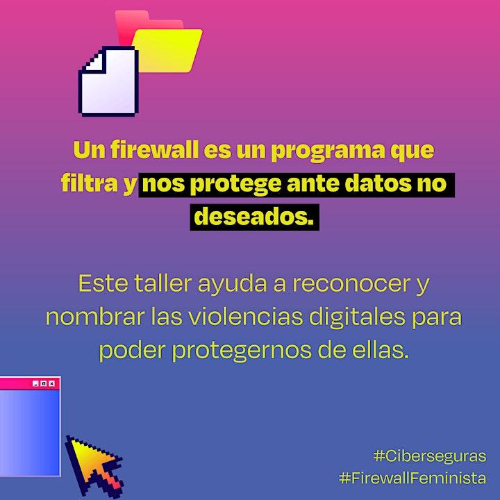 Imagen de Taller: Firewall feminista: Identificando la violencia digital