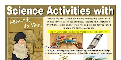Online Science Activities for children 7-12yrs (Oct) entradas