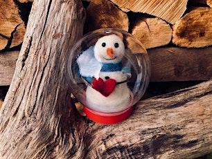 Heartfelt Snowman Globe Needle Felted tickets