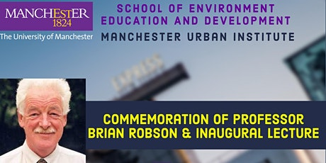 Commemoration of Professor Brian Robson & Inaugural Brian Robson Lecture tickets