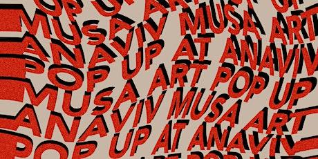 Art pop up at Anaviv entradas