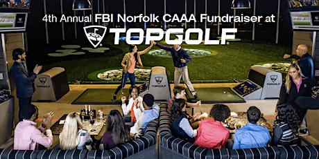 "FBI Norfolk CAAA Topgolf ""FORE!"" a Safer Hampton Roads tickets"