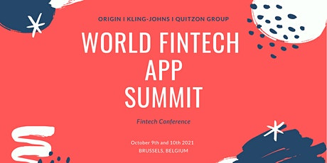 World FinTech App Summit - Brussels tickets