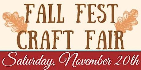 Fall Fest Craft Fair! tickets