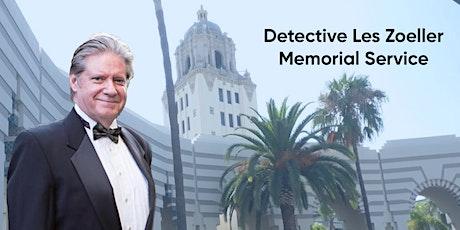 Detective Les Zoeller Memorial Service tickets