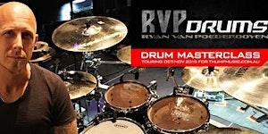 DTP's Ryan Van Poederooyen - Drum Masterclass Tour -...