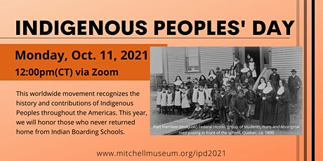 Indigenous Peoples' Day Student Presentation tickets