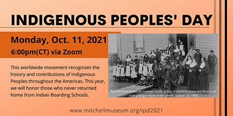 Indigenous Peoples' Day Presentation tickets