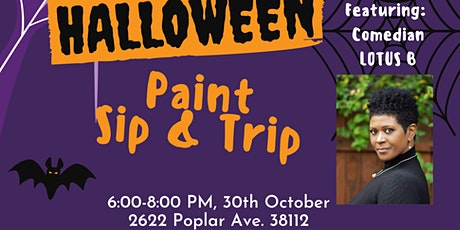 Halloween Paint, Sip & Trip Party tickets