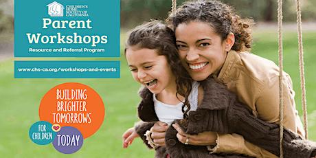 Parent Workshop: Positive Discipline and Responding to Challenging Behavior tickets