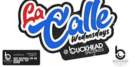 La Calle International Wednesdays tickets