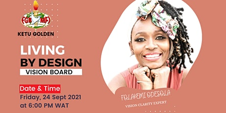 Living by Design : Vision Board tickets