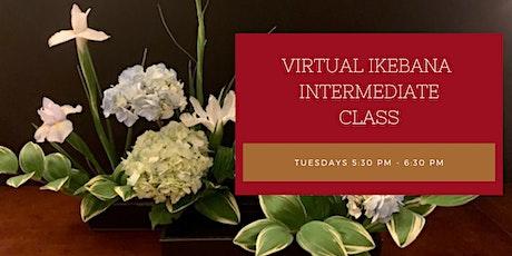 Virtual Ikebana Ohara Ryu Intermediate Advanced Class tickets