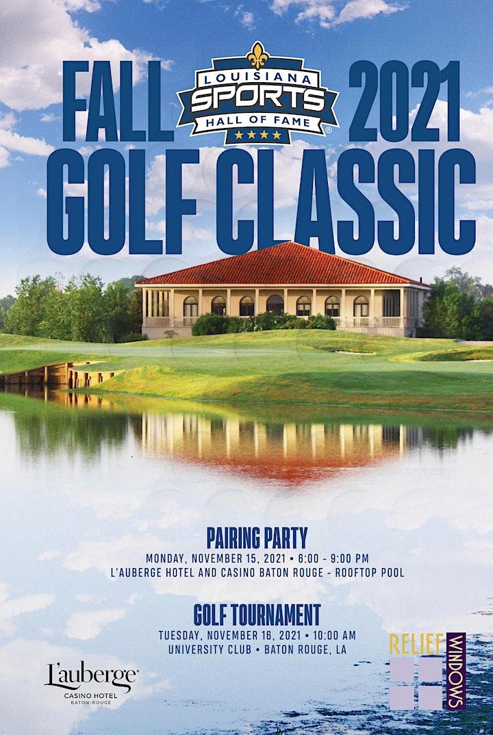 LSHOF 2021 Fall Golf Classic image