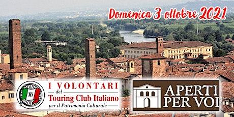 Sul campanile di S. Maria del Carmine a Pavia biglietti