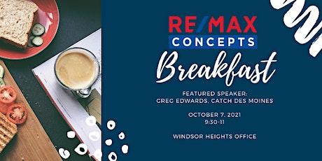 Concepts Breakfast tickets