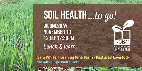 Soil Health to Go! tickets