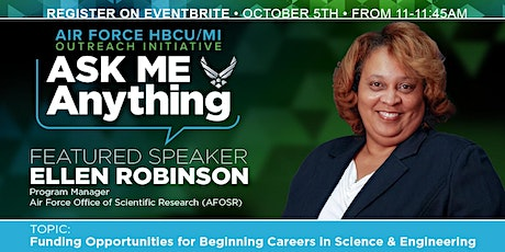 USAF STTR HBCU/MI  Ask Me Anything Event with Ms. Anissa Lumpkin & Guest tickets