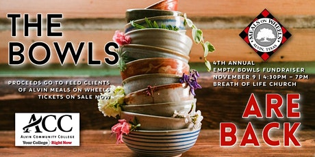 4th Annual Empty Bowls Fundraiser tickets
