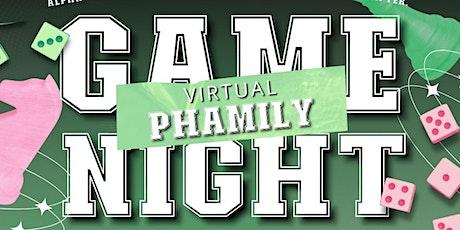 AKA Virtual Phamily Game Night tickets