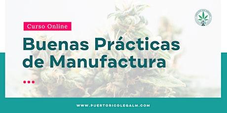 Buenas Prácticas de Manufactura | Online entradas