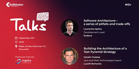 #TALKS154  All about Software Architecture tickets