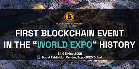 Blockchain Economy Expo 2020 Dubai tickets