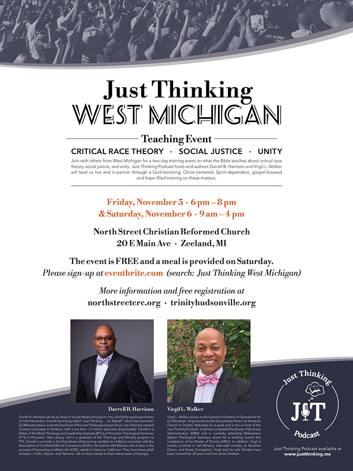 Just Thinking West Michigan: Biblical Training Event image