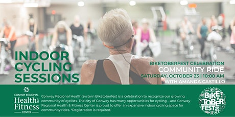 Biketoberfest| Indoor Cycling Ride with Conway Regional | October 23 tickets