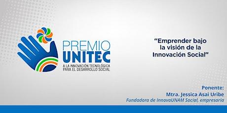 Conferencia:  Emprender bajo la visión de la Innovación Social entradas